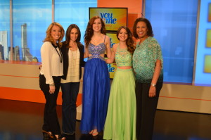 Charlotte's Closet (prom dress rental company) WCIU You and Me Morning Show