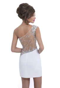 Beautiful Illusion Prom Dress from Blush available at Charlotte's Closet