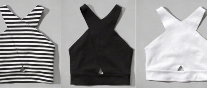 BLACK AND WHITE TANK TOPS