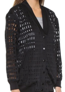 Finders Keepers black sheer jacket