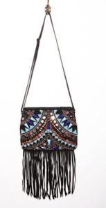 Forever 21 fringe bag with boho beading $32.90