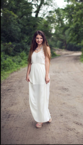 Look of the day-Summer Maxi Dress
