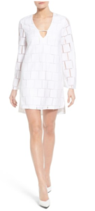 WHITE MINI DRESS Teen style trend