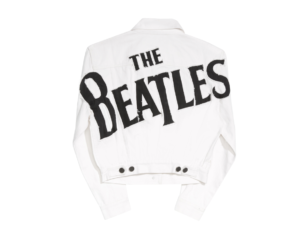 White Beatles Jacket Alice and Olivia