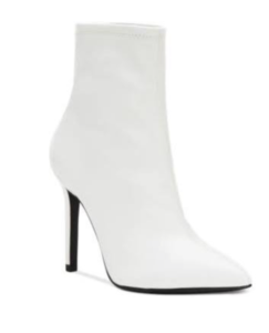 White Heeled Boot